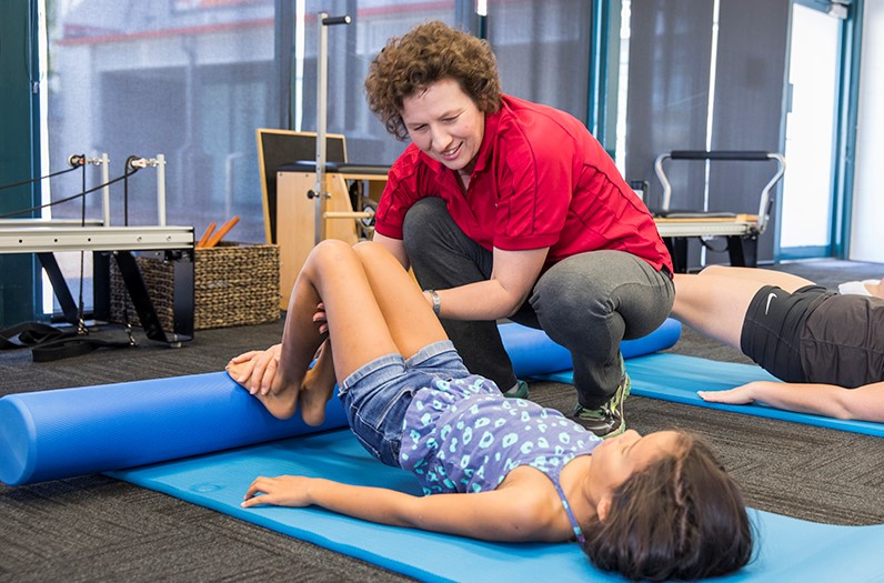 Young NDIS learning body control